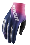 Thor 2018 Womens Void Dashe Gloves - Navy/Pink