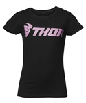 Thor 2018 Youth Girls Loud Tee - Black