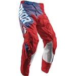 Thor 2017 Youth Pulse Geotec Pant - Red/Blue