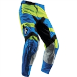 Thor 2017 Youth Pulse Level Pant - Blue/Lime