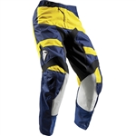 Thor 2017 Youth Pulse Level Pant - Navy/Yellow
