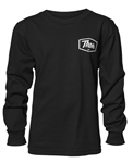 Thor 2018 Youth Script Long Sleeve Tee - Black