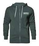 Thor 2018 Loud Zip-Up Hooded Sweatshirt - Alpine Green