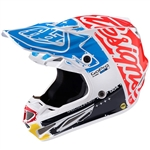 Troy Lee Designs -2017 SE4 Carbon Factory Helmet- White