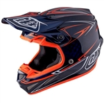 Troy Lee Designs - 2017 SE4 Carbon Pinstripe Helmet- Navy