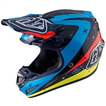 Troy Lee Designs - 2017 SE4 Carbon Twilight Helmet- Navy
