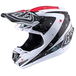 Troy Lee Designs - 2017 SE4 Carbon Twilight Helmet- White