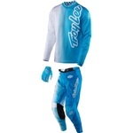 Troy Lee Designs - 2017 Youth GP Air 50/50 Combo- White/Blue
