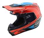 Troy Lee Designs - 2018 SE4 Carbon Squadra Full Face Helmet - Orange