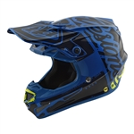 Troy Lee Designs - 2018 SE4 Polyacrylite Factory Full Face Helmet - Blue