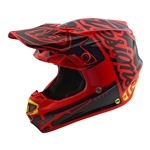 Troy Lee Designs - 2018 SE4 Polyacrylite Factory Full Face Helmet - Red