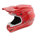 Troy Lee Designs - 2018 SE4 Polyacrylite Pinstripe Full Face Helmet - Red
