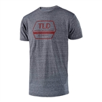 Troy Lee Designs 2018 Factory Premium Tee - Vintage Gray Snow