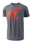 Troy Lee Designs 2018 Honda Wing Tee - Heather Gray