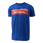Troy Lee Designs 2017 Honda Wing Block Tee - Blue