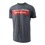 Troy Lee Designs 2017 Honda Wing Block Tee - Gray