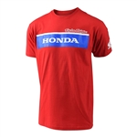 Troy Lee Designs 2017 Honda Wing Block Tee - Red