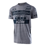 Troy Lee Designs 2017 Youth KTM Tee - Charcoal