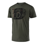 Troy Lee Designs 2018 Ledge Premium Tee - Surplus Green