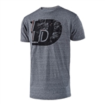 Troy Lee Designs 2018 Ledge Premium Tee - Vintage Gray Snow