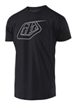 Troy Lee Designs 2018 Logo Tee - Black/Reflective