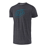 Troy Lee Designs 2018 Logo Tee - Onyx/Blue