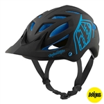 Troy Lee Designs 2017 MTB A1 MIPS Classic Helmet - Black/Blue