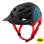 Troy Lee Designs 2017 MTB A1 MIPS Classic Helmet - Black/Red