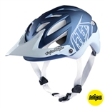 Troy Lee Designs 2017 MTB A1 MIPS Classic Helmet - Blue/White