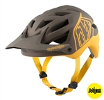 Troy Lee Designs 2017 MTB A1 MIPS Classic Helmet - Grey/Honey