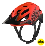 Troy Lee Designs 2017 MTB A1 MIPS Classic Helmet - Orange/Red