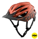 Troy Lee Designs 2017 MTB A2 MIPS Decoy Helmet - Orange/Grey