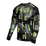 Troy Lee Designs 2017 MTB MOTO Jersey - Chop Block Gray