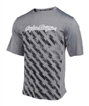 Troy Lee Designs 2017 MTB Compound Short Sleeves Jersey - Bolt Heather Gray