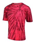 Troy Lee Designs 2017 MTB Network Jersey - Tie Dye Red