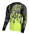 Troy Lee Designs 2017 MTB Sprint AIR Jersey - Code Flo Yellow