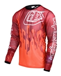 Troy Lee Designs 2017 MTB Sprint AIR Jersey - Code Orange