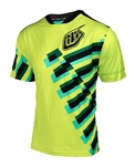 Troy Lee Designs 2017 MTB Skyline Jersey - Force Flo Yellow