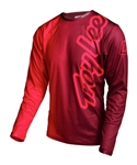 Troy Lee Designs 2017 MTB Sprint Jersey - 50/50 Red