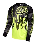 Troy Lee Designs 2017 MTB Sprint Jersey - Flo Yellow