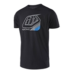 Troy Lee Designs 2018 Precision Tee - Black/Blue