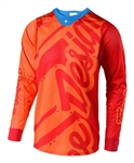 Troy Lee Designs 2018 SE Air Shadow Jersey - Honey/Red