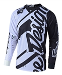 Troy Lee Designs 2018 SE Shadow Jersey - Black/White