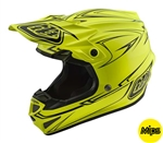 Troy Lee Designs 2018 SE4 Polyacrylite Freedom Full Face Helmet - Yellow