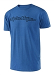Troy Lee Designs 2018 Signature Tee - Electric Blue