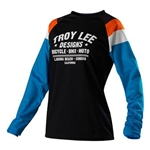 Troy Lee Designs 2017 Womens MTB Rev Jersey - Black