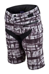 Troy Lee Designs 2017 Womens Skyline Short - Plaid Black