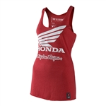 Troy Lee Designs 2017 Womens Honda Wing Shirt - Red
