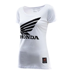 Troy Lee Designs 2017 Womens Honda Wing Shirt - White