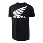 Troy Lee Designs 2017 Youth Honda Wing Tee - Black